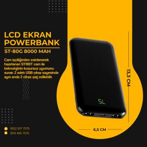 POWERBANK ST80G 8000MAH