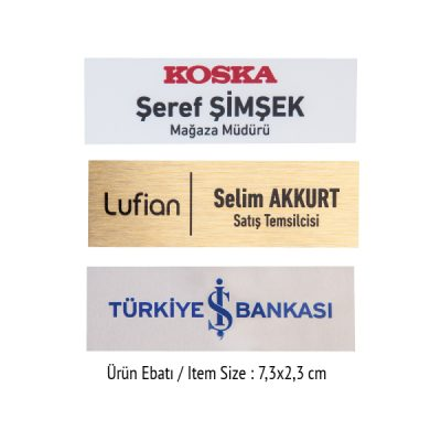 İSİMLİĞİ C-D ( UV VE SÜBLÜME BASKIYA UYGUN) ST330292 04